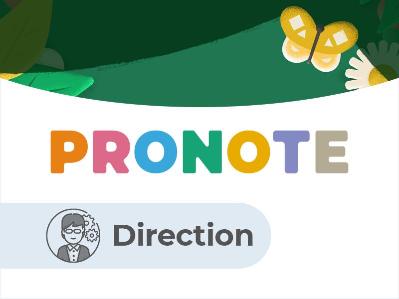Espace Direction PRONOTE.net