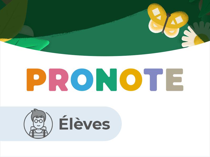Espace Elèves PRONOTE.net