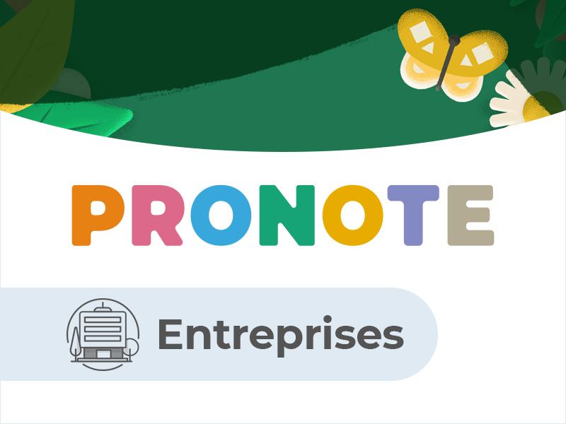Espace Entreprise PRONOTE.net