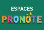 Espaces PRONOTE