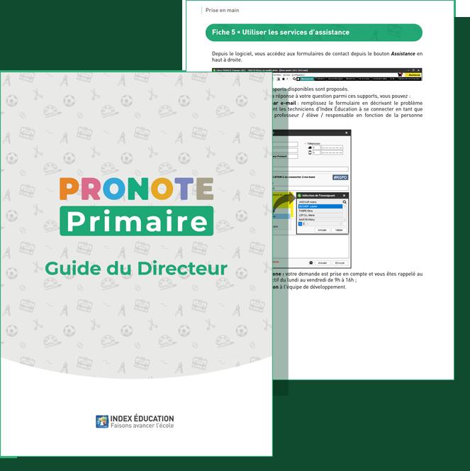 Guide pratique PRONOTE Primaire directeur