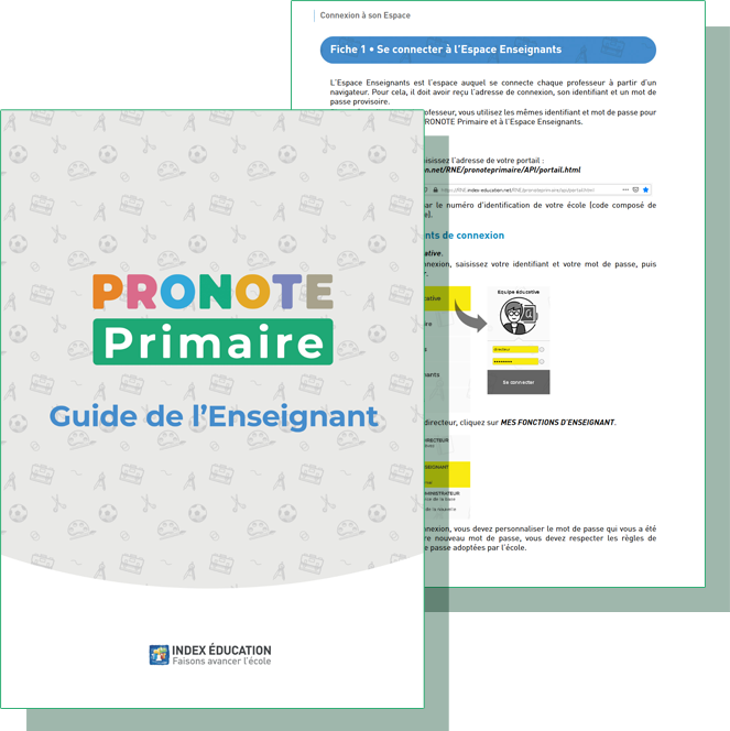Guide pratique PRONOTE Primaire enseignant