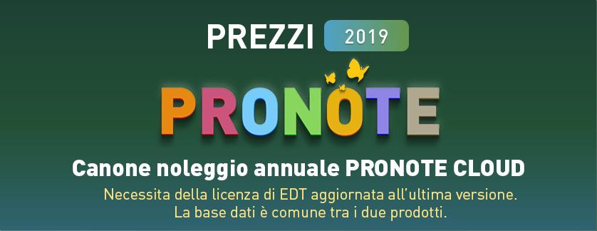 prezzi pronote - offerta promozionale