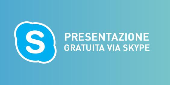presentazione gratuita via skype