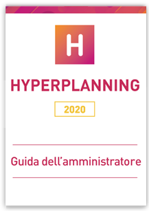 Guida amministratore HYPERPLANNING 2020