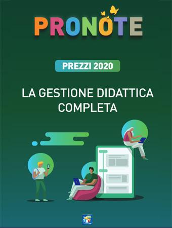 Avvio Anno PRONOTE 2020