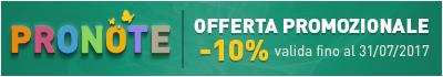 offerta speciale PRONOTE -30%