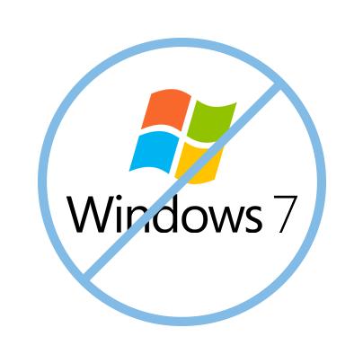 EDT : fin de windows 7