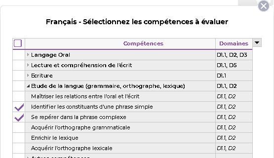 Référentiels et évaluations de compétences