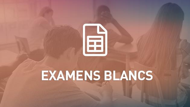 Plannifier les examens blancs