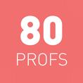 Tarifs 80 profs