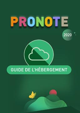 Hébergement PRONOTE 2020