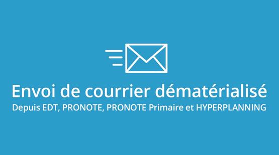 Envoi de courrier dématérialisé