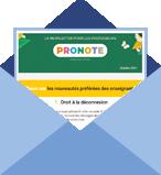 PRONOTE, la newsletter spéciale professeurs