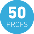 Tarifs 50 profs