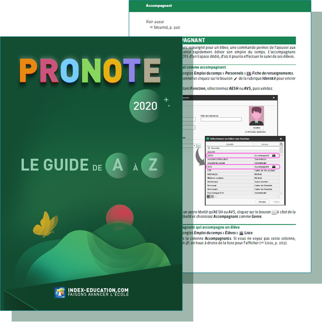 Guide pratique PRONOTE 2020