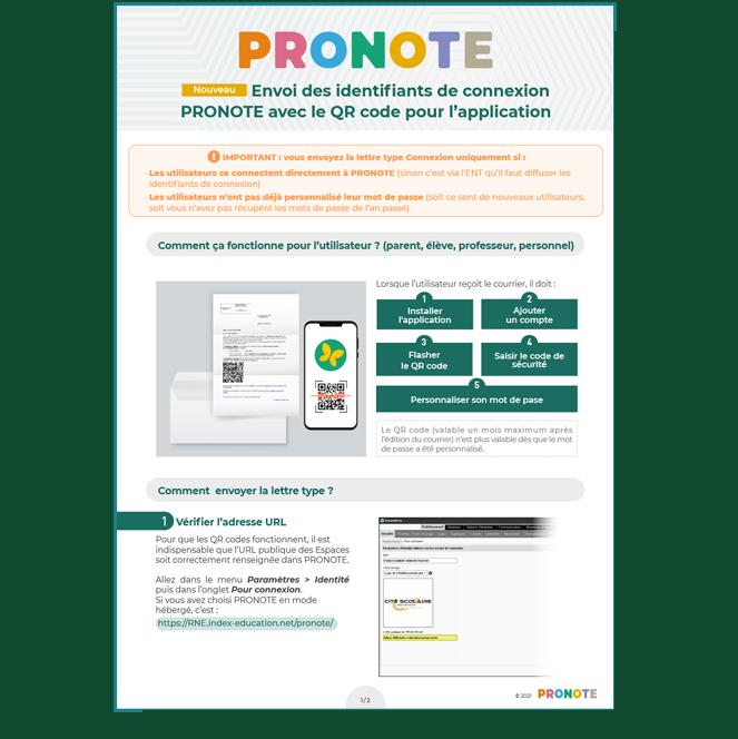 Guide pratique PRONOTE 2021