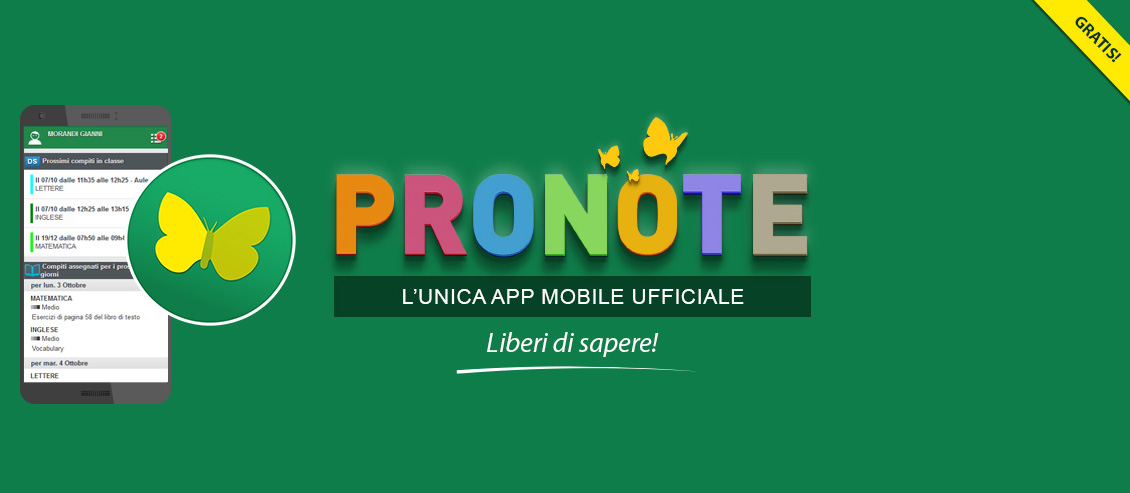 PRONOTE mobile